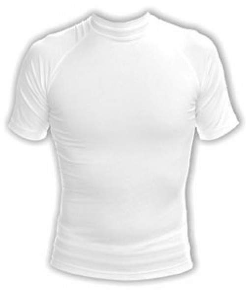Vapor Youth White Micro Defender Tee (L)