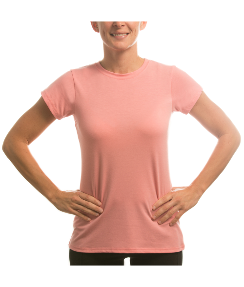 Vapor Ladies Pretty Pink Slim Tee (XL)
