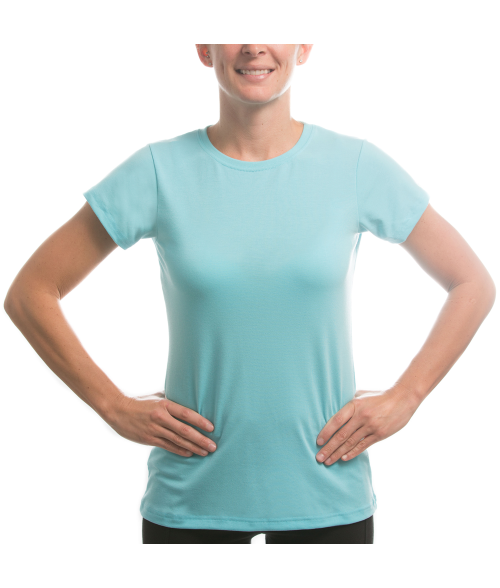 Vapor Ladies Water Blue Slim Tee (XL)