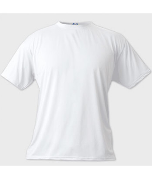 Vapor Youth White Micro Tee (L)