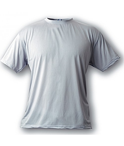 Vapor Youth Athletic Grey Micro Tee (L)