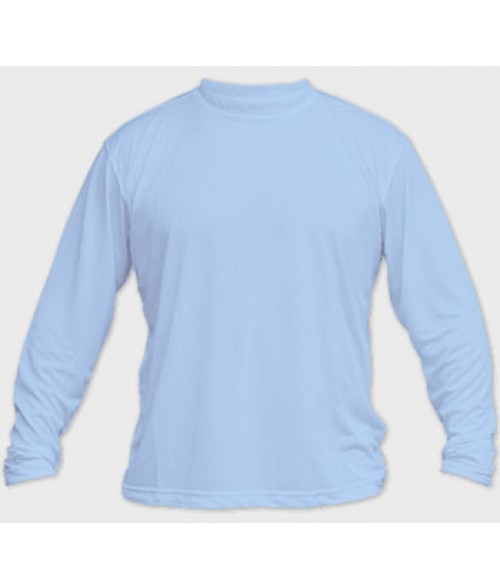 Vapor Adult Blue Sky Micro Long Sleeve Tee (3X)