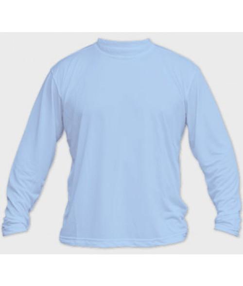 Vapor Adult Blue Sky Micro Long Sleeve Tee (3X)