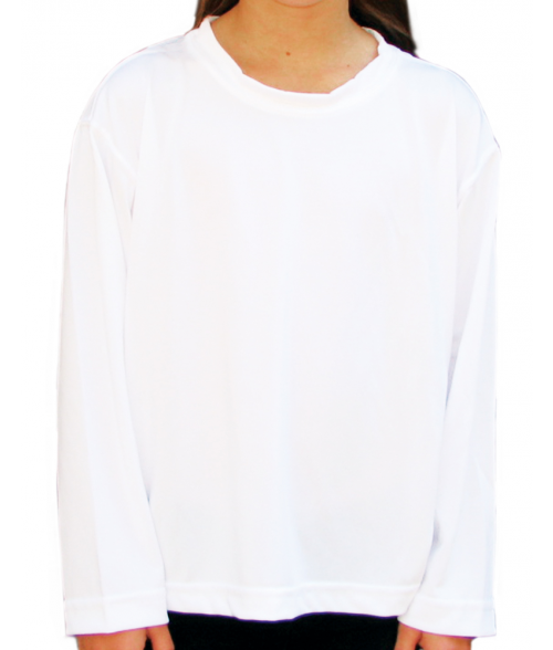 Vapor Youth White Solar Long Sleeve Tee (L)