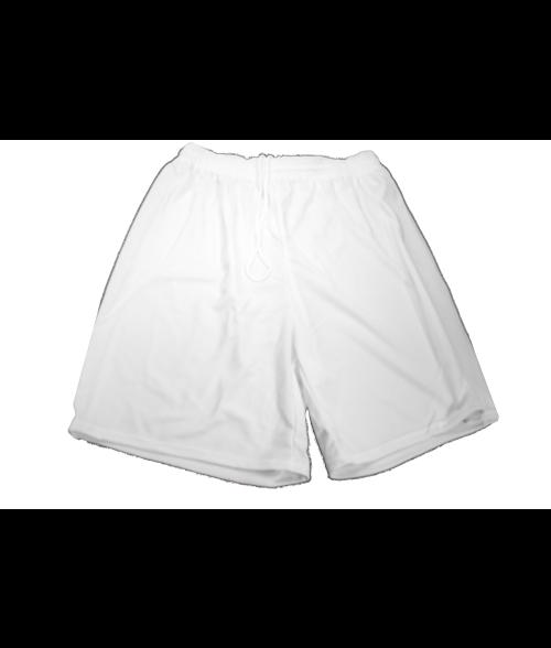 Vapor Adult White Court Shorts (2X)
