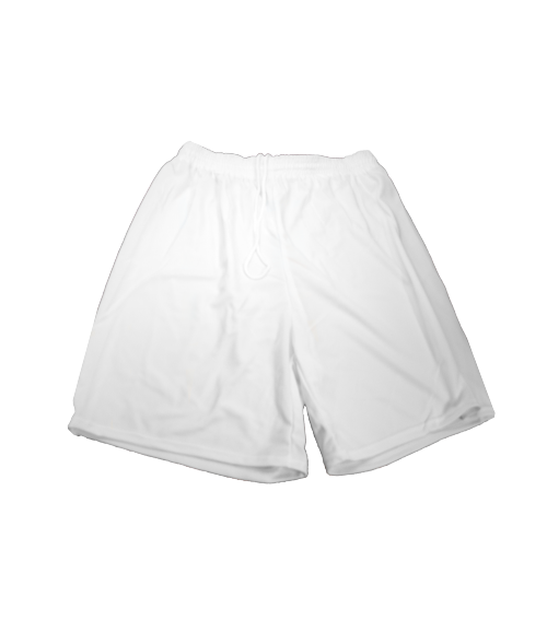 Vapor Adult White Court Shorts (XL)