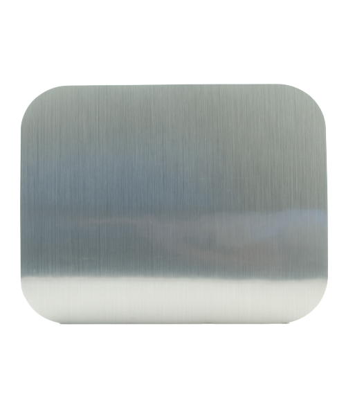 "Rowmark Placemates Brushed Silver 10"" x 16"" Placemat"