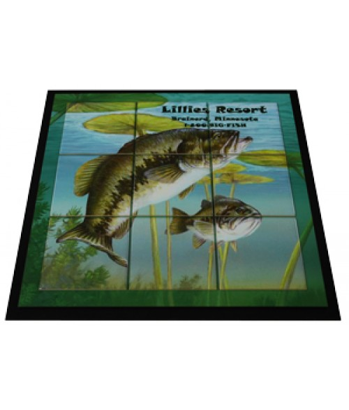 "16"" x 16"" Tile Frame Mural (Holds 4-1/4"" x 4-1/4"" Tiles)"