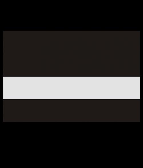 "Rowmark UltraGrave Matte Clear/Black 1/16"" Reverse Engraving Plastic"