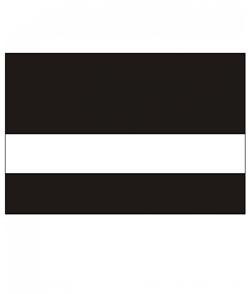 """Rowmark UltraGrave Matte Black/White 1/16"""" Engraving Plastic"""