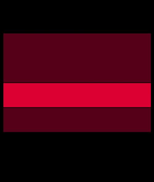 "Rowmark UltraGrave Matte Red/Gold 1/16"" Engraving Plastic"