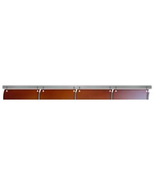 "Unisub ChromaLuxe 23.8"" Hanging Bar for 5.85"" Wavy Tiles"