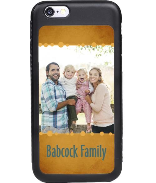 Unisub SwitchCase Matte Black Grip Case for iPhone 6/6S