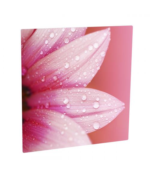 "Unisub ChromaLuxe Semi-Gloss White 4"" x 4"" Square Aluminum Photo Panel"