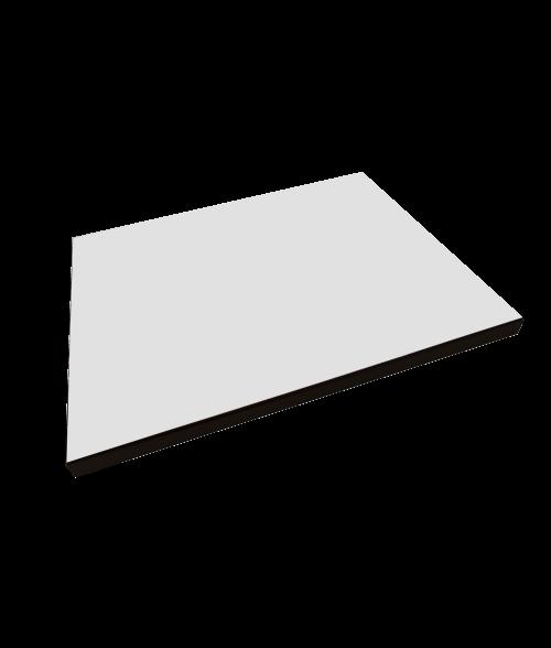 """Unisub Value Line Black 9"""" x 12"""" MDF Plaque"""