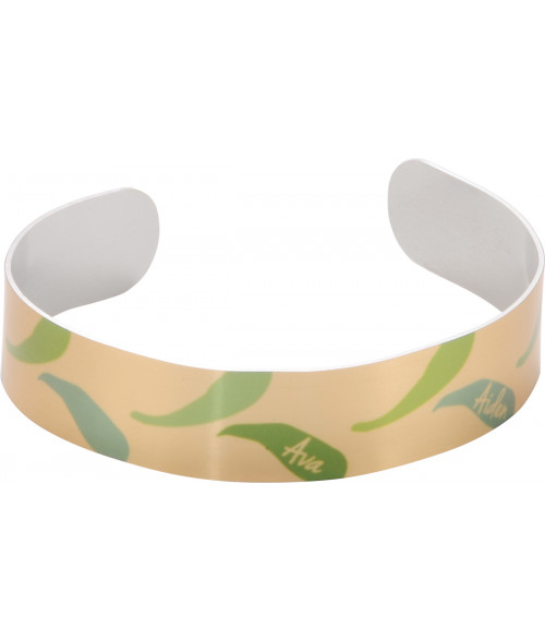 "Unisub Gold .55"" x 6-1/2"" Stand Cuff Bracelet"