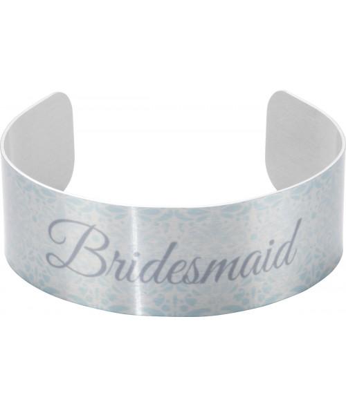 "Unisub Silver 7/8"" x 6-1/2"" Stand Cuff Bracelet"