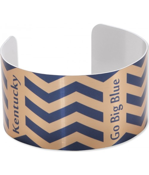 "Unisub Gold 1-3/8"" x 6-1/2"" Stand Cuff Bracelet"