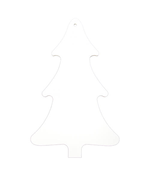 Unisub White FRP Tree Ornament