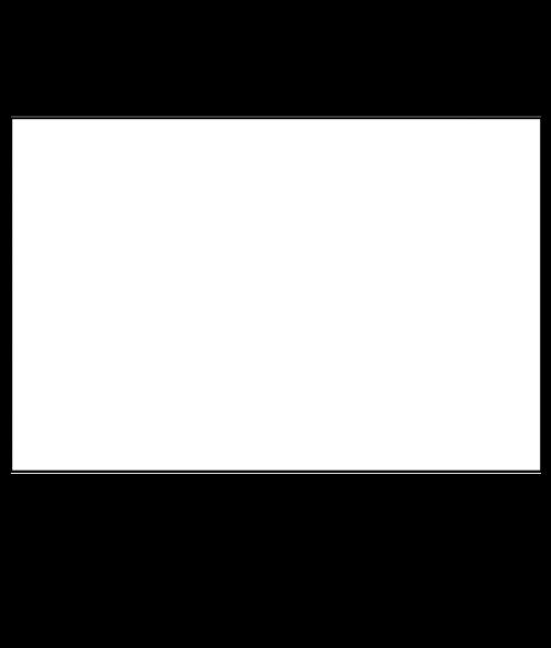 "Unisub Gloss White 11-1/2"" x 23-1/2"" 1-Sided FRP Sheet"