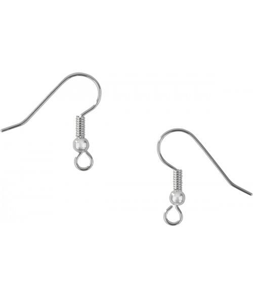 Unisub Surgical Steel Earring Hook for Florentine Jewelry