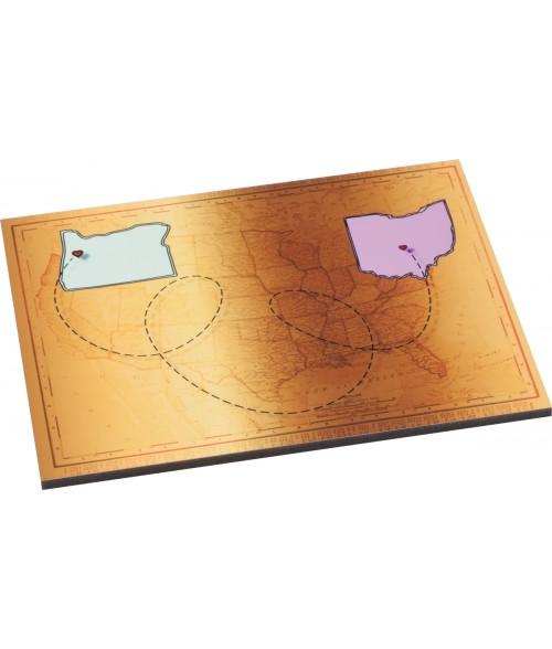 "Unisub Gloss 6"" x 7-7/8"" Hardboard Tile"