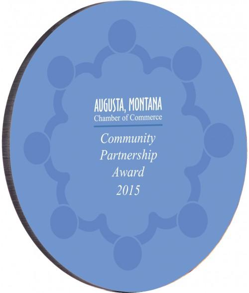 "Unisub 5-3/4"" Circle Streamline Award"