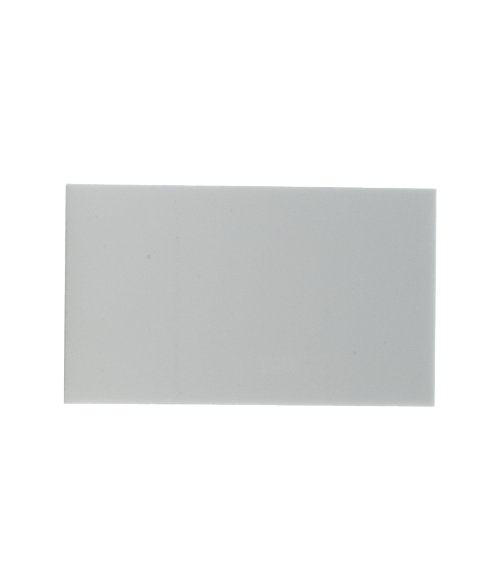 "White 2-3/8"" x 4"" Aluminum Insert for WB200"
