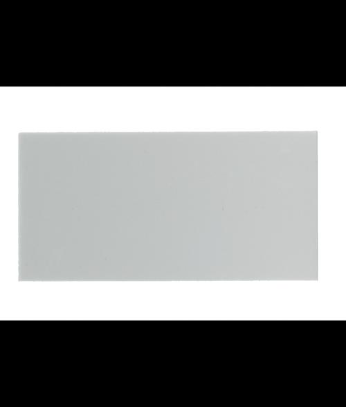 """White 2-1/4"""" x 5"""" Aluminum Insert for WB300"""