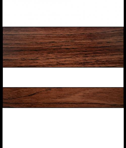 "IPI Woods Matte Rosewood/White 1/16"" Engraving Plastic"