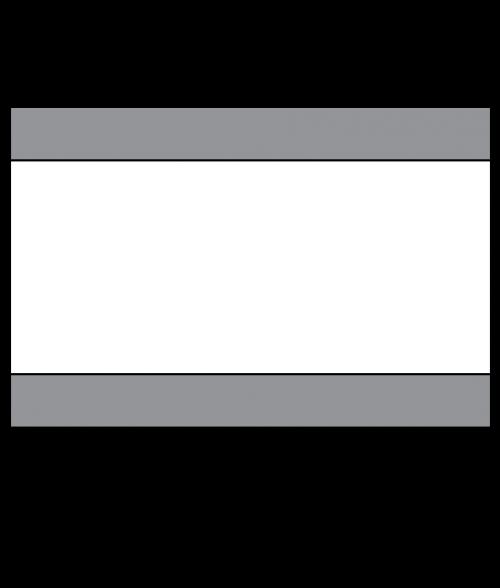 """Scott-Ply Colors Smoke Grey/White/Smoke Grey 1/8"""" Engraving Plastic"""