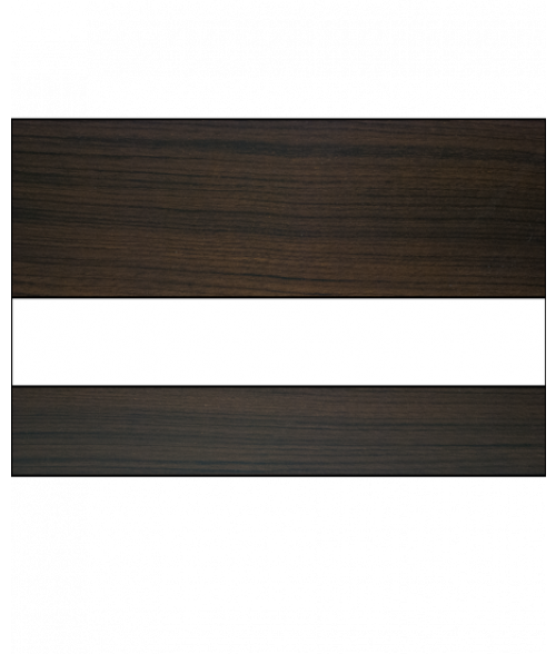 "Scott-Ply Woodgrain Walnut/White 1/16"" Engraving Plastic"