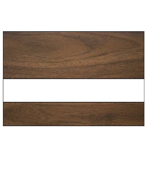 "Scott-Ply Woodgrain Oak/White 1/16"" Engraving Plastic"