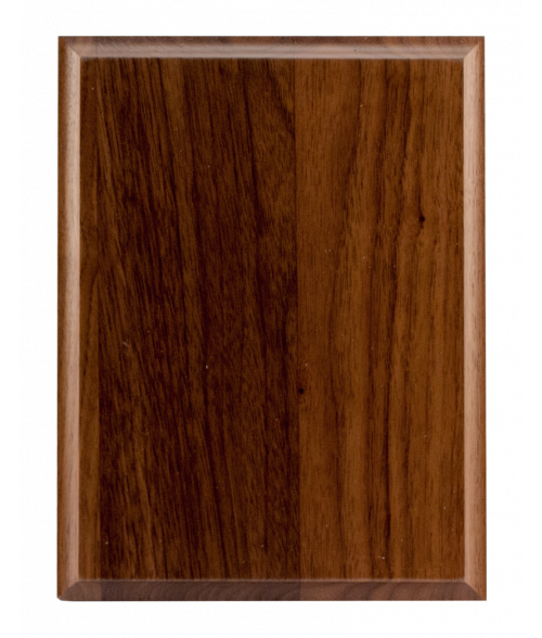 "Solid Walnut 6"" x 8"" Plaque Base"
