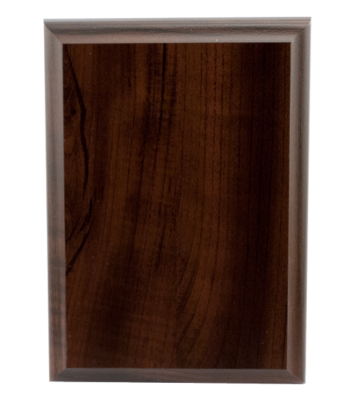 "Laminated Cherry 5"" x 7"" Plaque Base"