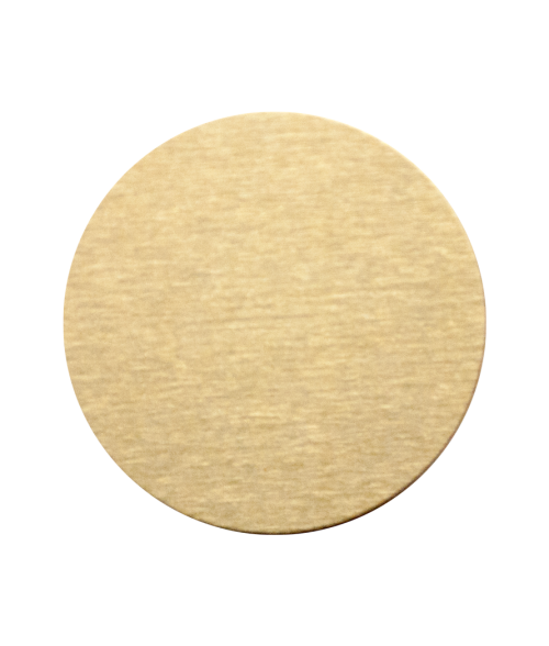 Gloss Brushed Gold 24mm Aluminum Circle