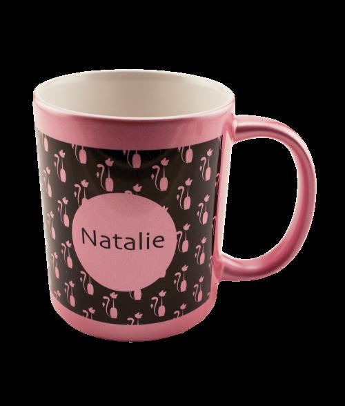 Pink Metallic 11oz Mug