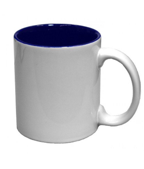 Rhinocoat White/Blue 11oz Two Tone Mug (36/Case)