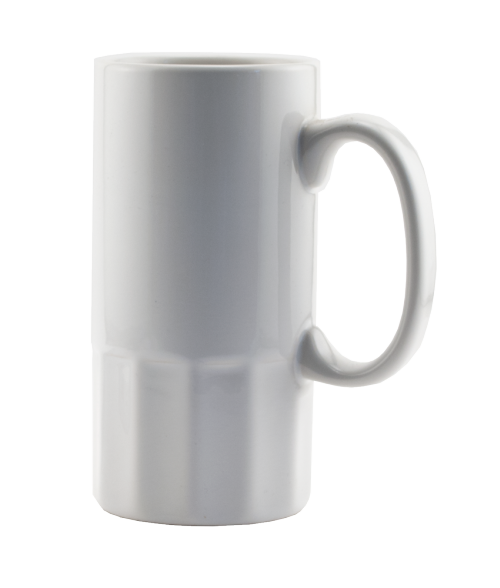 Rhinocoat White 18oz Stein (12/Case)