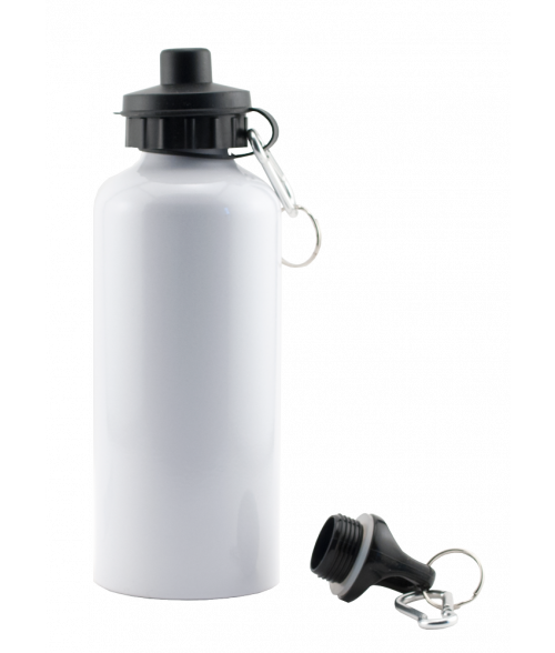 White Aluminum Water Bottle
