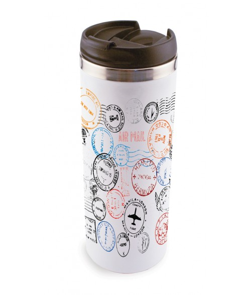 White 14oz Stainless Steel Tumbler