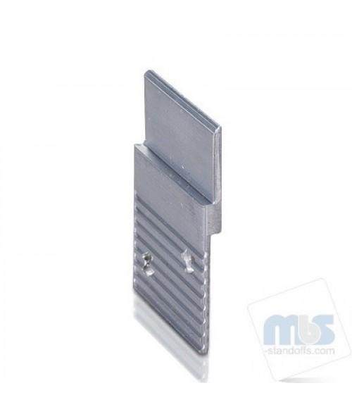 """MBS Aluminum 1-1/2"""" Z-Clip (Light to Medium Duty)"""