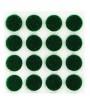 "Green 3/8"" Round Felt Pad"