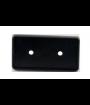 """Black Badge Frame for 1-13/32"""" x 2-25/32"""" x 1/8"""" Insert"""