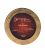 "Focus Series Burgundy/Gold 15"" Round Plaque"