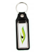 Punch'nPress Black 18 x 50mm Rectangle Key Chain