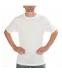 Vapor Adult White Basic Tee (M)