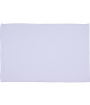 "White 15"" x 22"" Microfiber Velour Towel"