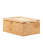 "Natural Maple 4-1/4"" x 6"" Jewelry Box"