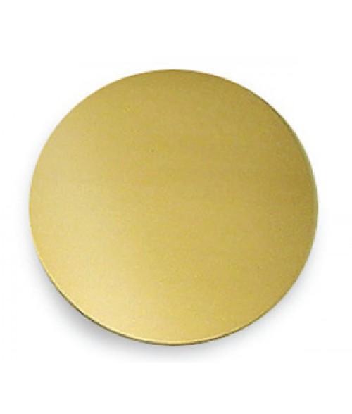 "Satin Gold 2"" Brass Circle"
